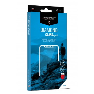 LCD apsauginis stikliukas MyScreen Diamond Edge 3D Samsung S21 Plus juodais krašteliais