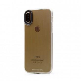 "Pilkas dėklas ""Devia Yonger"" Apple iPhone X / XS telefonui"