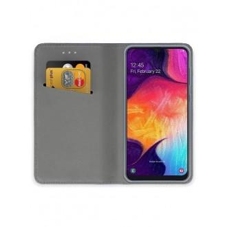 """Raudonas atverčiamas dėklas Samsung Galaxy A505 A50 / A507 A50s / A307 A30s telefonui """"Smart Magnetic"""""""