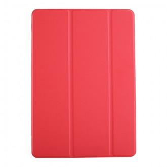 """Raudonas atverčiamas dėklas Samsung T590 / T595 Tab A 10.5 2018 """"Smart Leather"""""""
