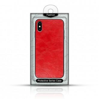 """Raudonas silikoninis dėklas Huawei P Smart Z telefonui """"Business Case"""""""