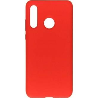 "Raudonas silikoninis dėklas Huawei P40 Lite E / Y7P telefonui ""Mercury Soft Feeling"""