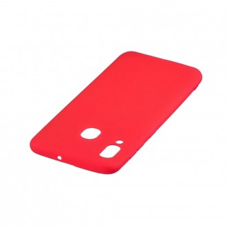 "Raudonas silikoninis dėklas Samsung Galaxy A405 A40 telefonui Mercury Goospery ""Soft Jelly Case"""