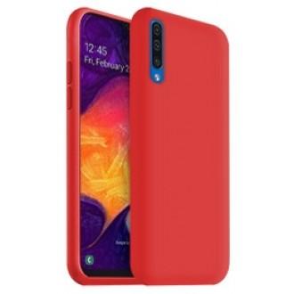 "Raudonas silikoninis dėklas Samsung Galaxy A505 A50 / A507 A50s / A307 A30s telefonui ""Liquid Silicone"""