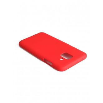 "Raudonas silikoninis dėklas Samsung Galaxy A600 A6 2018 telefonui ""Mercury Soft Feeling"""