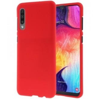 "Raudonas silikoninis dėklas Samsung Galaxy A705 A70 telefonui ""Mercury Soft Feeling"""