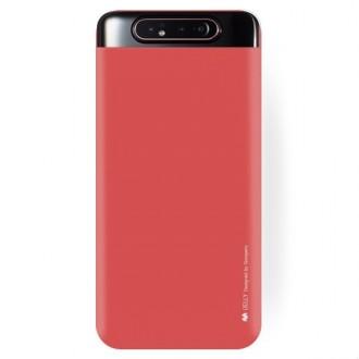 "Raudonas silikoninis dėklas Samsung Galaxy A805 A80 telefonui ""Mercury Soft Feeling"""