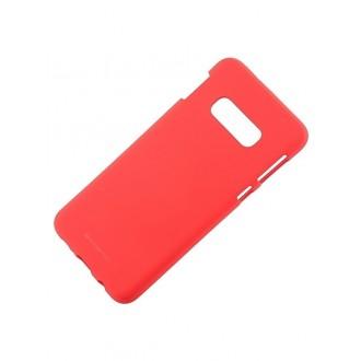 """Raudonas silikoninis dėklas Samsung Galaxy G970 S10e telefonui """"Mercury Soft Feeling"""""""
