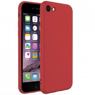 Raudonos spalvos dėklas X-Level Dynamic Apple iPhone 6 / 6S telefonui
