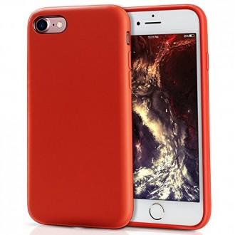 Raudonos spalvos dėklas X-Level Dynamic Apple iPhone 7 / 8 / SE 2020 telefonui