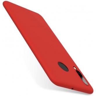 Raudonos spalvos dėklas X-Level Dynamic Huawei P30 Lite telefonui