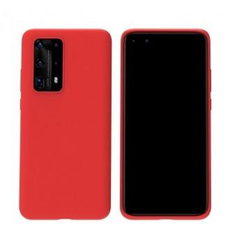 Raudonos spalvos dėklas X-Level Dynamic Huawei P40 Pro telefonui