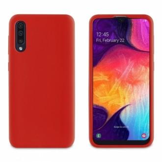 Raudonos spalvos dėklas X-Level Dynamic Samsung Galaxy A505 A50 / A507 A50s / A307 A30s telefonui