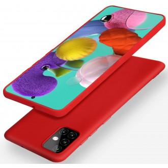 Raudonos spalvos dėklas X-Level Dynamic Samsung Galaxy A515 A51 telefonui