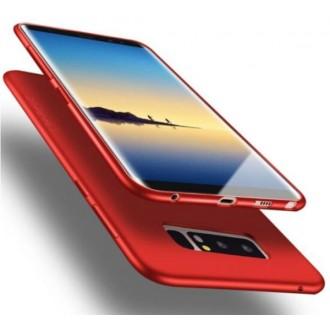 Raudonos spalvos dėklas X-Level Guardian Apple iPhone 12 telefonui