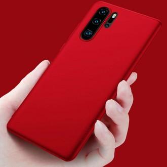 Raudonos spalvos dėklas X-Level Guardian Huawei P30 Pro telefonui