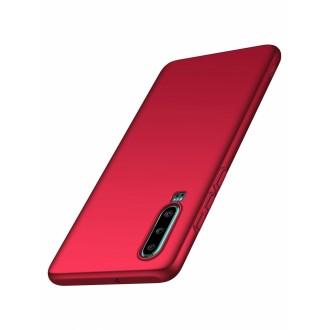 Raudonos spalvos dėklas X-Level Guardian Huawei P30 telefonui