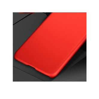 Raudonos spalvos dėklas X-Level Metallic Samsung Galaxy N950 Note 8 telefonui