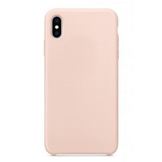 """Rožinės spalvos silikoninis dėklas Apple iPhone 12 Pro Max telefonui """"Liquid Silicone"""" 1.5mm"""