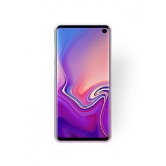 """Rožinis blizgantis silikoninis dėklas Samsung Galaxy G970 S10E telefonui """"Bling"""""""