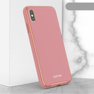 "Rožinis dėklas ""Glass Case"" Apple Iphone XR telefonui"