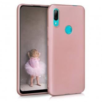 "Rožinis silikoninis dėklas Huawei P Smart Z / Y9 Prime 2019 telefonui ""Liquid Silicone"" 1.5mm"