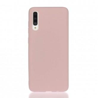 "Rožinis silikoninis dėklas Samsung Galaxy A705 A70 telefonui ""Liquid Silicone"" 2.0mm"