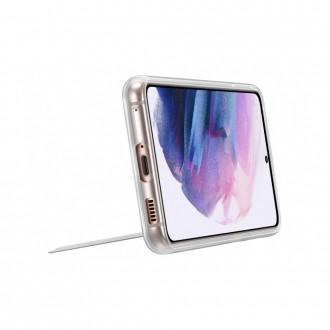 """Originalus Samsung Galaxy S21 telefonui skaidrus dėklas """"Standing Cover"""""""