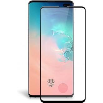 Apsauginis grūdintas stiklas ''9D Full Glue '' Samsung Galaxy G973 S10 telefonui