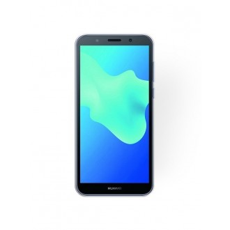 "Sidabrinis blizgantis silikoninis dėklas Huawei Y5 2018 telefonui ""Shining"""