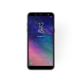 "Sidabrinis blizgantis silikoninis dėklas Samsung Galaxy A6 2018 telefonui ""Shining"""