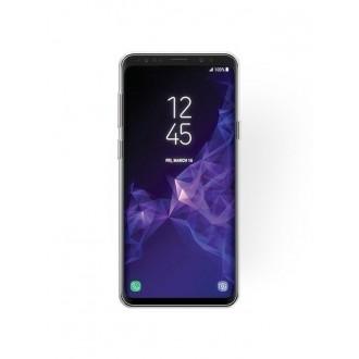 "Sidabrinis blizgantis silikoninis dėklas Samsung Galaxy G960 S9 telefonui ""Shining"""