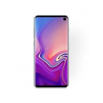 "Sidabrinis blizgantis silikoninis dėklas Samsung Galaxy G970 S10E telefonui ""Shining"""