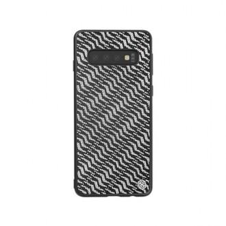 """Sidabrinis dėklas Samsung Galaxy G975 S10 Plus telefonui """"Nillkin Twinkle"""""""