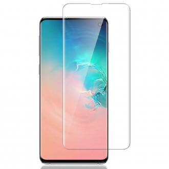 """Skaidrus apsauginis grūdintas stiklas Samsung Galaxy G970 S10e telefonui """"M1 5D UV Glue"""""""
