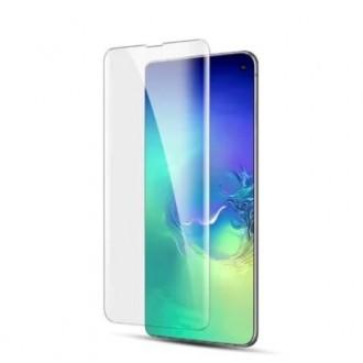 """Skaidrus apsauginis grūdintas stiklas Samsung Galaxy G973 S10 telefonui """"M1 5D UV Glue"""""""