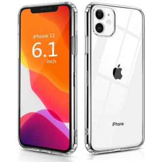 "Skaidrus dėklas Apple iPhone 11 telefonui ""X-Level Antislip"""