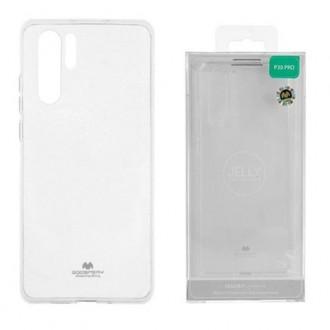 """Skaidrus dėklas Mercury Goospery """"Jelly Case"""" Huawei P30 Pro telefonui"""
