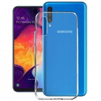 "Skaidrus dėklas Mercury Goospery ""Jelly Clear"" Samsung Galaxy A505 A50 telefonui"