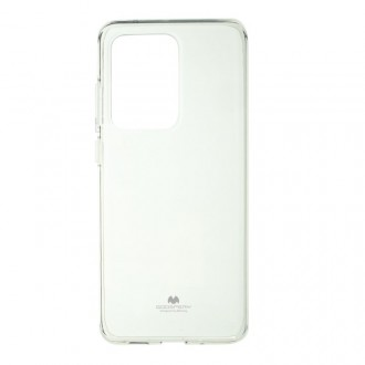 "Skaidrus dėklas Mercury Goospery ""Jelly Clear"" Samsung Galaxy G988 S20 Ultra telefonui"