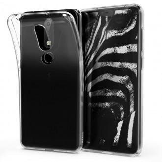"""Skaidrus dėklas Nokia 6.1 Plus X6 2018 telefonui """"X-Level Antislip"""""""