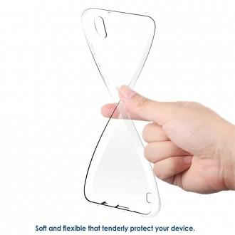 "Skaidrus dėklas Samsung Galaxy A105 A10 telefonui ""X-Level Antislip"""