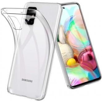 "Skaidrus dėklas Samsung Galaxy A715 A71 telefonui ""X-Level Antislip"""