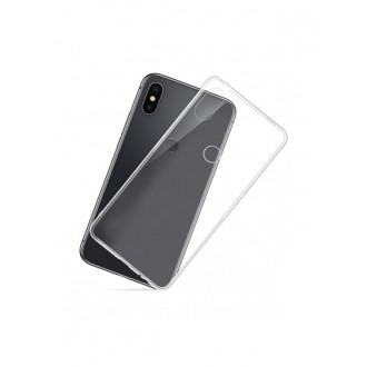 Skaidrus plonas 0,3mm silikoninis dėklas Xiaomi Redmi Note 5 Pro  telefonui