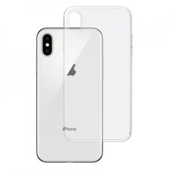 """Skaidrus silikoninis dėklas Apple Iphone X telefonui """"3MK"""" 1,2mm"""