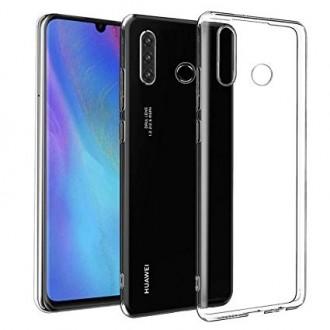 """Skaidrus silikoninis dėklas Huawei P30 Lite telefonui """"Clear 0.5mm"""""""