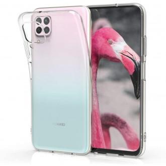 """Skaidrus silikoninis dėklas Huawei P40 Lite telefonui """"Clear"""" 1,0mm"""