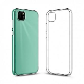 "Skaidrus silikoninis dėklas Huawei Y5P telefonui ""Clear 1.0mm"""