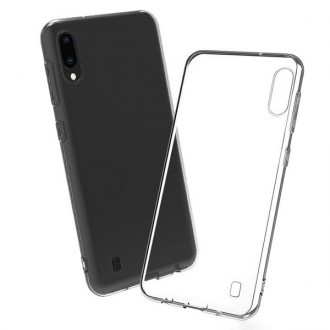 "Skaidrus silikoninis dėklas Samsung Galaxy A105 A10 telefonui ""Mercury Goospery Jelly Clear"""