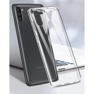 """Skaidrus silikoninis dėklas Samsung Galaxy A11 telefonui """"Mercury Goospery Jelly Clear"""""""
